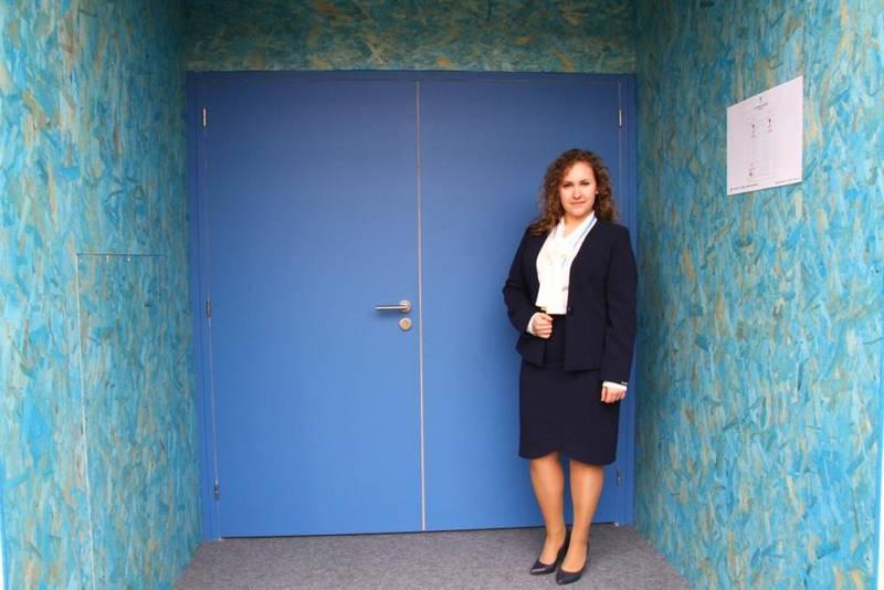 Vera Tkach, ungdomsrepresentant for Sentral-Europa (Russland) i Det Lutherske Verdensforbund på toppmøtet.
