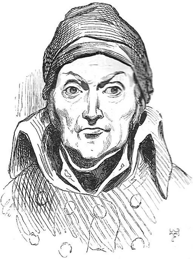 En tegning av Nicolas Appert, franskmannen som forsto at hermetisering var tingen for å unngå hungersnød.
