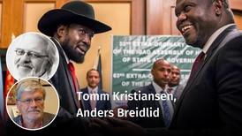 – Når det er snakk om Sør-Sudan, tør ikke UD sette navn på elefantene i rommet