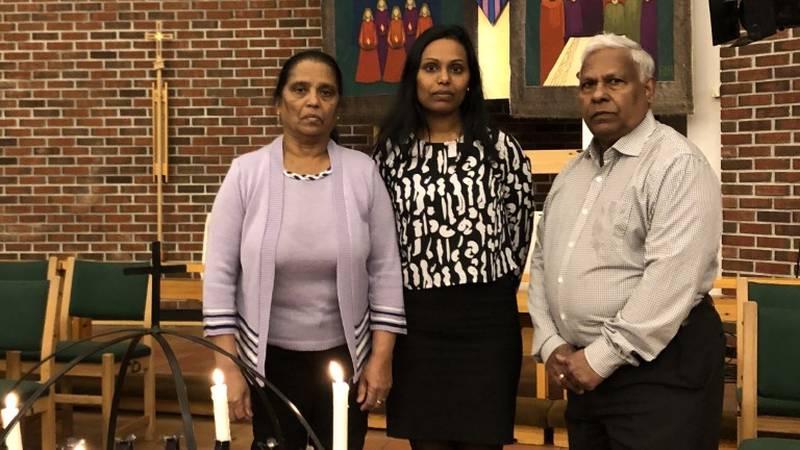 Merry Anjala, Anonipillai Johnsen Collin og datteren Dilani Johnson Collin kom til Norge fra Sri Lanka i 2009. De tør ikke reise tilbake i frykt for å bli forfulgt, fengslet og torturert.