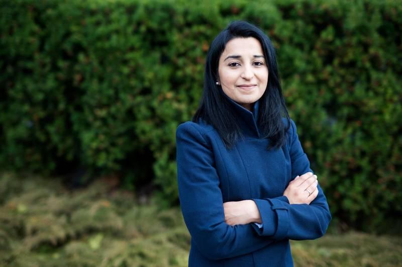 Bushra Ishaq, lege, samfunnsdebatant, muslim og forfatter.