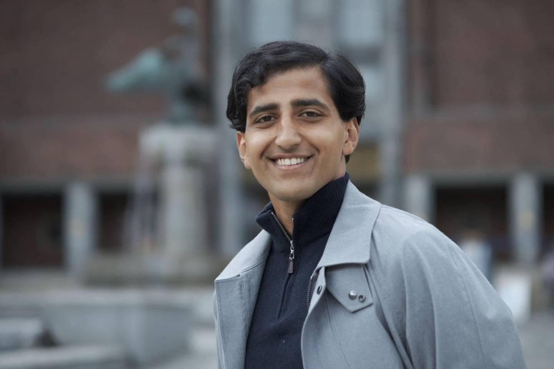 Hassan Nawaz, bystyrepolitiker for Høyre i Oslo.