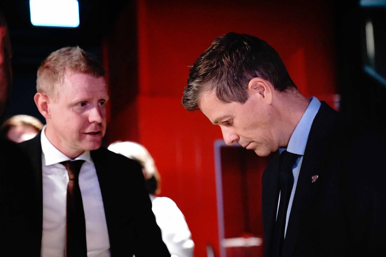Knut Arild Hareide er nervøs for valgresultatene.