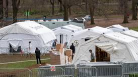 Graham-organisasjon satte opp nødsykehus i Central Park. Homofilisyn skaper uro