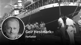 Siste livbåt fra et synkende Europa