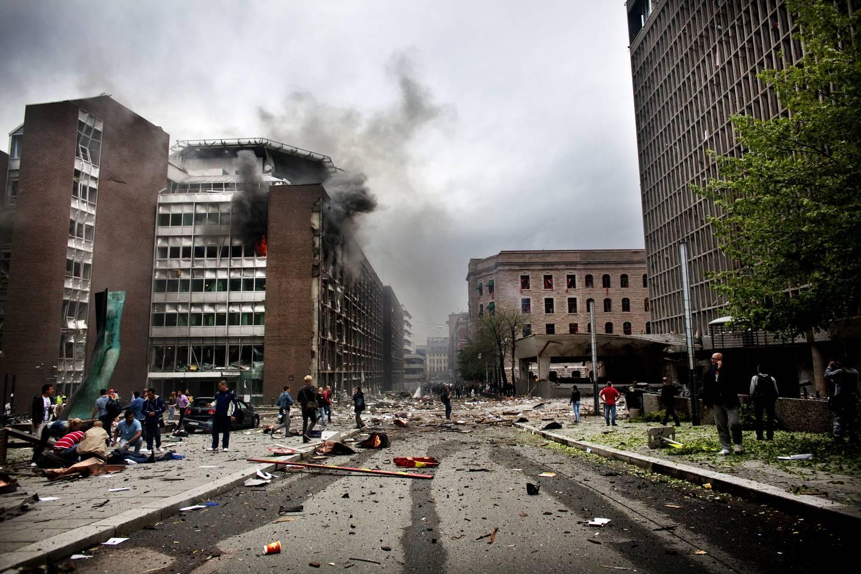 Bombeangrep på regjeringskvartalet 22.07.2011.