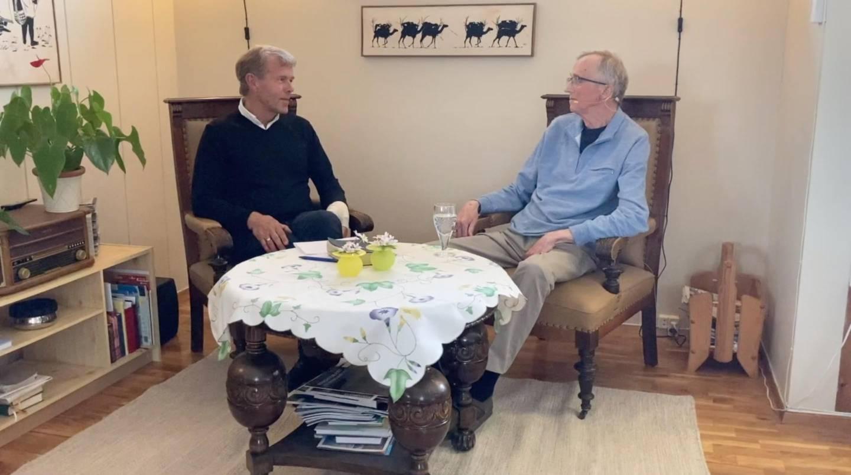 Biskop emeritus Per Arne Dahl har intervjuet Egil Grandhagen til et Kristi himmelfart-stevne. Det skal vises på Facebook-siden til Dahl torsdag klokken 20. Også Vårt Land kommer til å sende programmet.