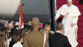 Paven besøker Ungarn