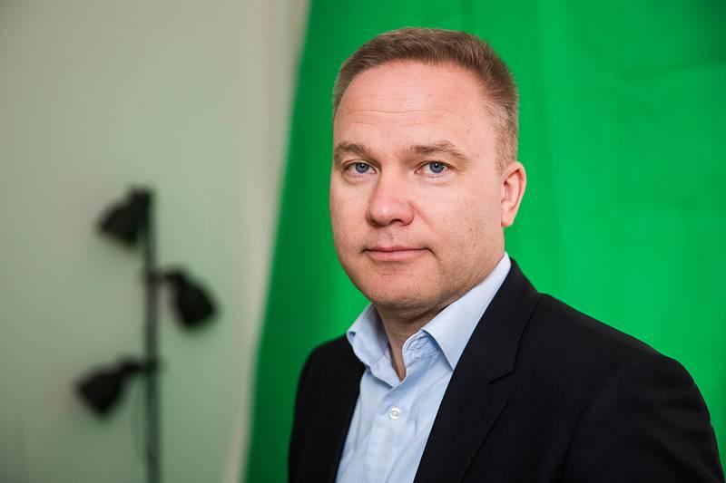 Oslo  20180302.Helge Lurås er redaktør for nettstedet Resett.no.Foto: Håkon Mosvold Larsen / NTB scanpix