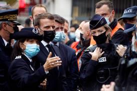 Macron etter Nice-drapene: Frankrike er under angrep