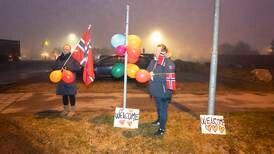 De syriske asylsøkerne fra Hellas har landet i Norge
