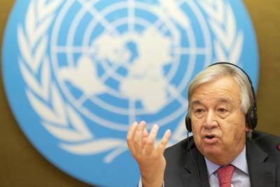 Lytt til FN-sjefen