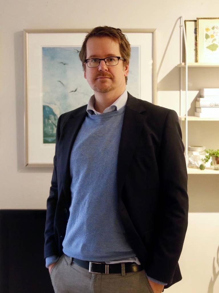 Avdelingsdirektør for kyrkjefag og økumenikk, Jan Christian Kielland