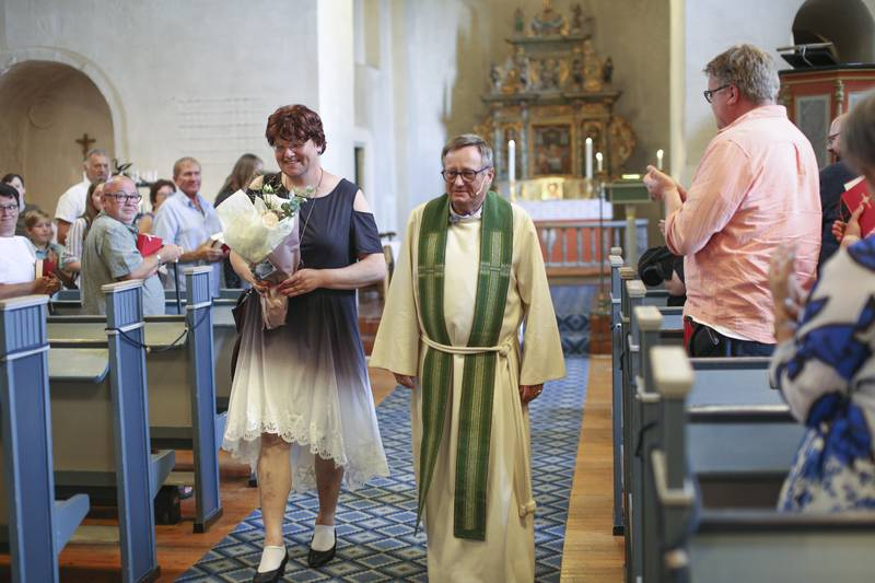 Elin Stillingen navnseseremoni i Hoff kirke