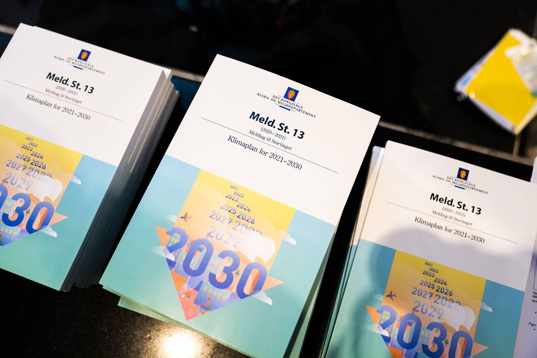 Klimaplan for 2021-2030