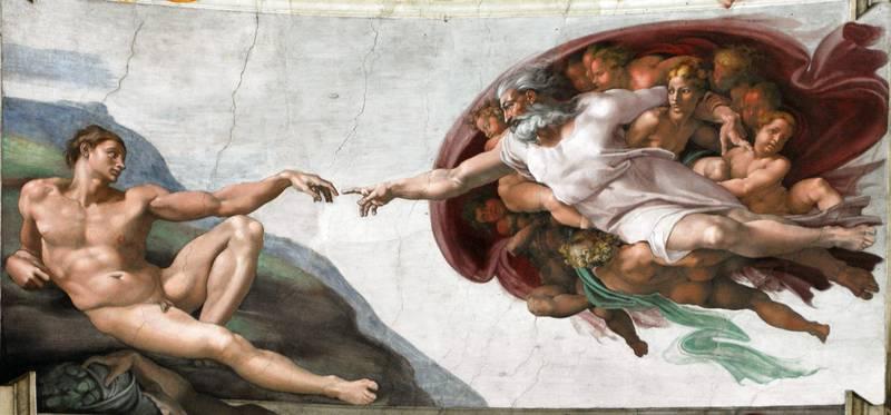 Gud skapte mennesket