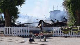 Kirker brenner i Canada