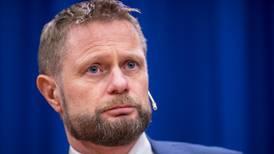 Bent Høie med uvanlig varsko til eget parti: Advarer mot å liberalisere alkoholpolitikken