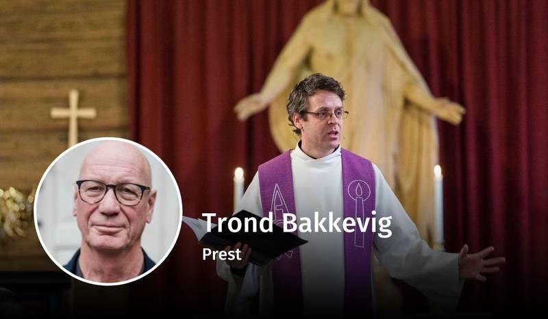 Trond Bakkevig, kirkelig organisering, debatt