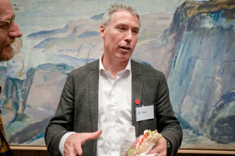 Ed Brown, generalsekretær i Stefanusalliansen.