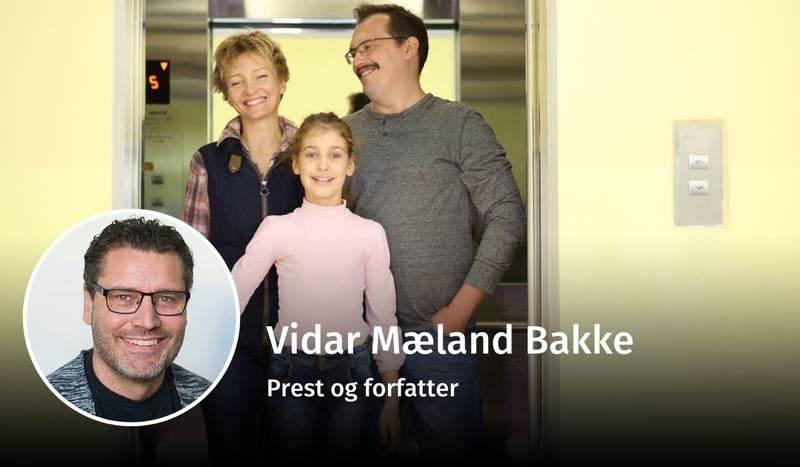 Vidar Mæland Bakke, familie, debatt