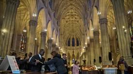 Mann pågrepet med bensin i katedral i New York