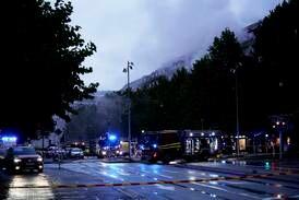 Fire personer alvorlig skadd etter eksplosjon i bygård i Göteborg
