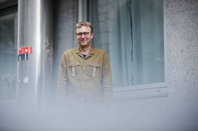 Forsker ved Institutt for kirke-, religions- og livssynsforskning ( KIFO), Tore Witsø Rafoss fotografert i lokalene til KIFO i forbindelse med nye tall.