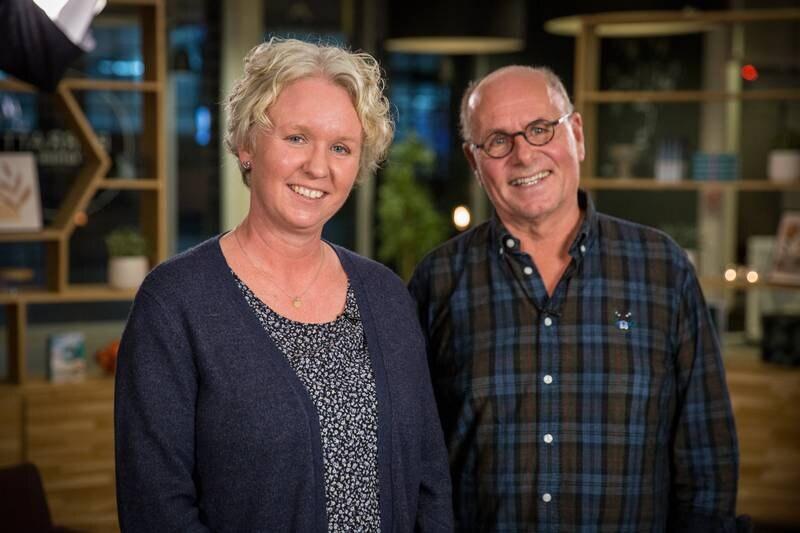 Høgskolelektor Anita Reitan og TV-pastor Egil Svartdahl møtes i Plussprat.