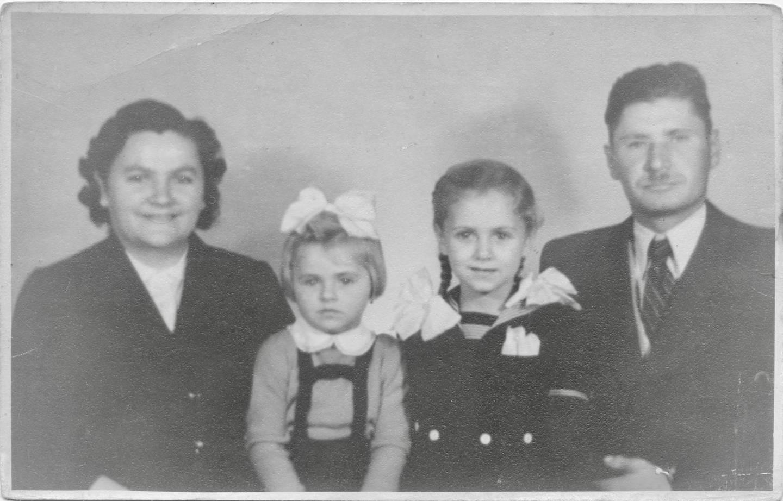 Karikó-familien i 1957