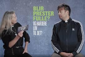 Prest på NRK: «Deilig» og av og til «nødvendig» å bli full