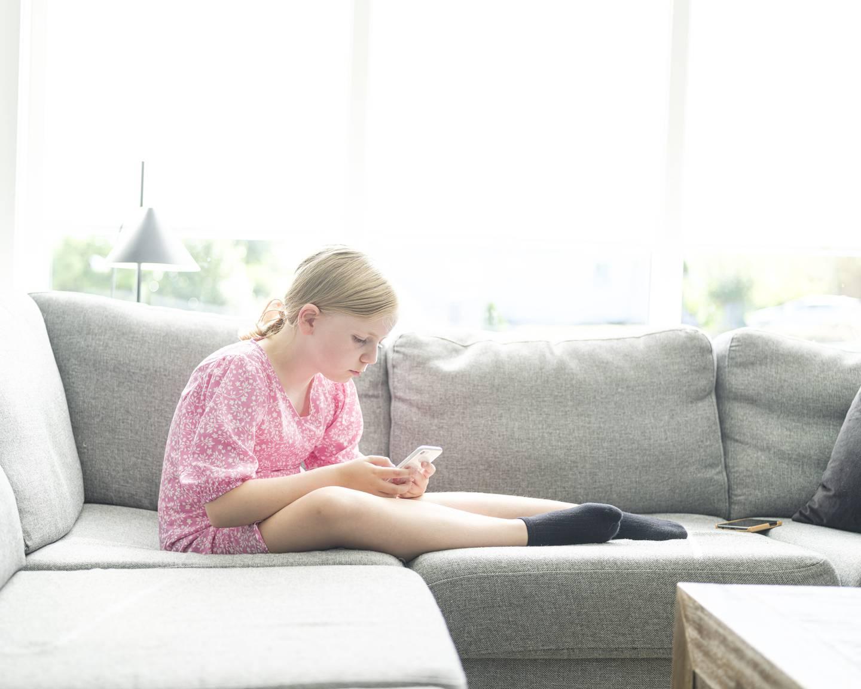 Jannicke Sivertsen. Hun er mor til Ida Bendiksen Sivertsen (10), som er et av landets om lag 4.000 alvorlig syke barn.