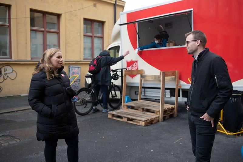 KjellIngolf Ropstad. 11 millioner til juleaktiviteter.
