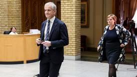 Ap-Støre: «Jeg tviler ikke på at Ropstad og Bollestad har kjempet sine kamper»