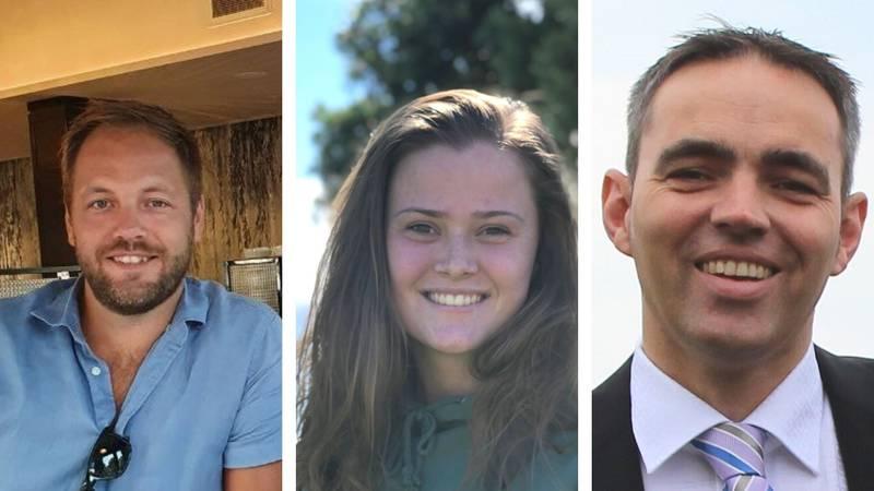 Vidar Riis Jacobsen, Nora Risnes Jebelli og Knut Holm Andersen er medlemmar i BCC.