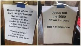 Denne kirken bruker bibelfortellinger som smittevern