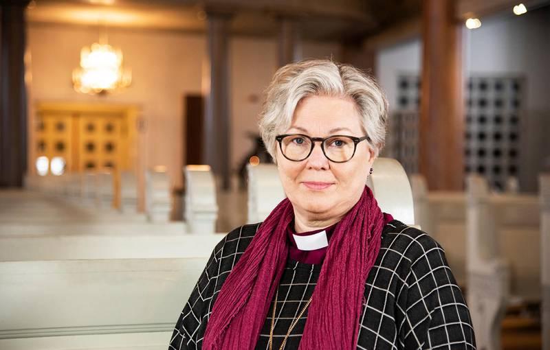 Eva Nordung Byström har blitt bedt om å forlate tjenesten som biskop, men håper fortsatt det er mulig å få til en dialog.