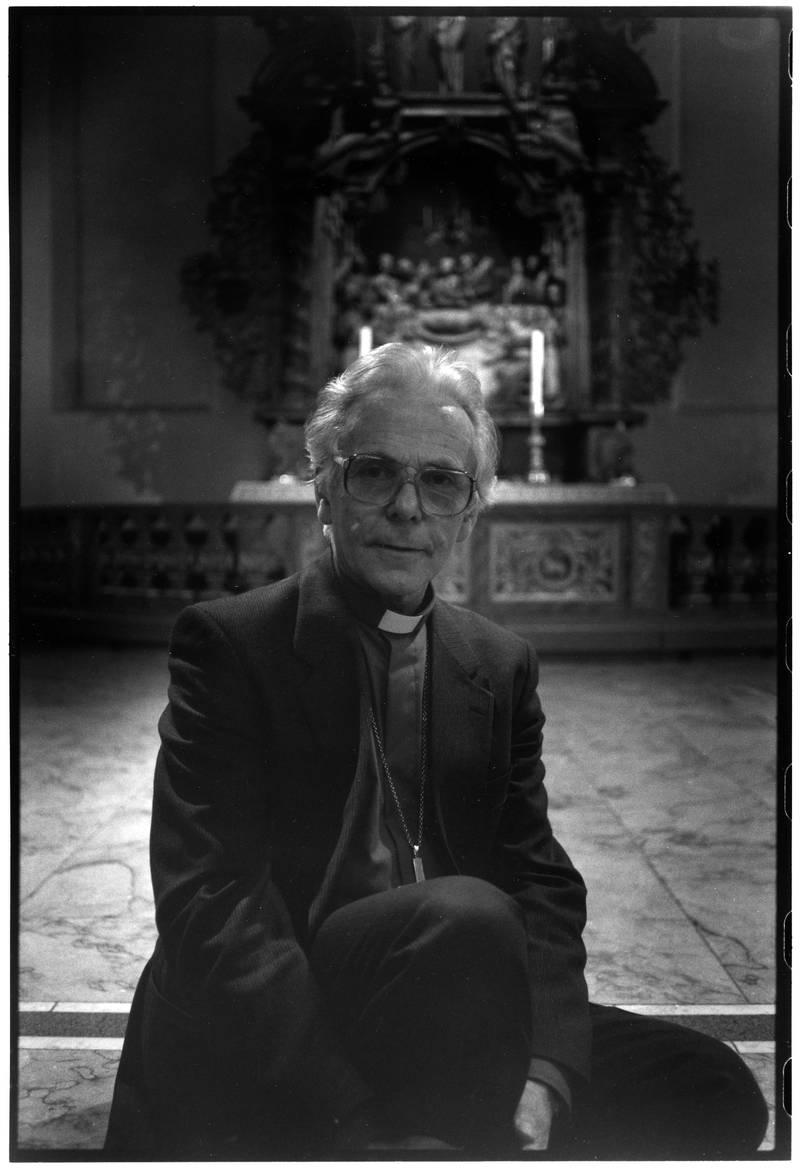 Ole Nordhaug, biskop Møre, Stille dag i Oslo domkirke, 16.01.1993