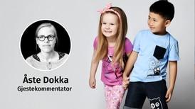 Rosa er faktisk en jentefarge. La oss for barnas skyld snakke litt sannere om kjønn