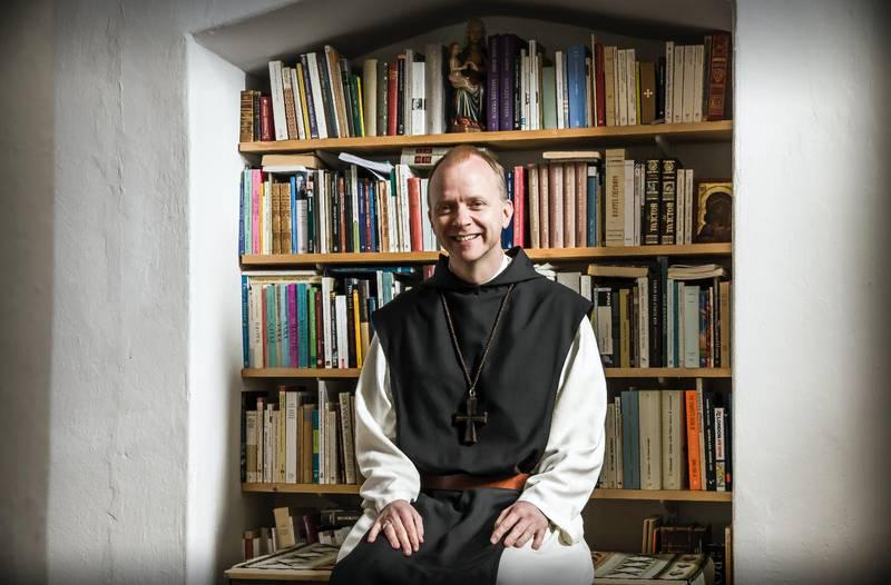 Erik Varden er fra Østfold og har vært abbed for klosteret Mount St. Bernard Abbey i Leicestershire i England siden 2015.