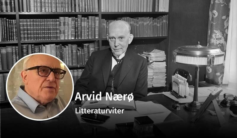 Arvid Nærø, Ole Hallesby, debatt