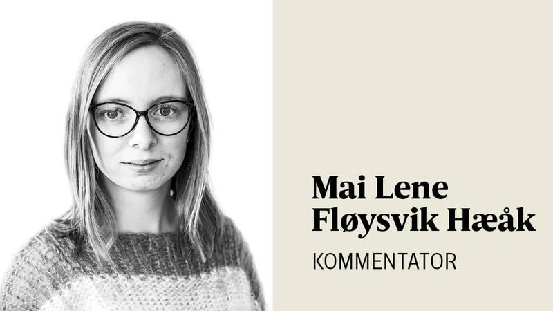 – Om ikkje unge blir valt inn kan ein heller ikkje forvente at unge skal trekke til kyrkja når dei flyttar til ein ny stad og treng ei ny forsamling, skriver Mai Lene Fløysvik Hæåk.