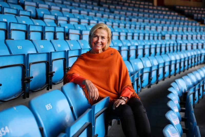 Oslo 20200908.  Idrettspresident Berit Kjøll snakker litt om tiden for idretten under korona. Foto: Ørn E. Borgen / NTB