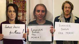 Aksjonskrav til utanriksministeren: Hent barn ut av Moria