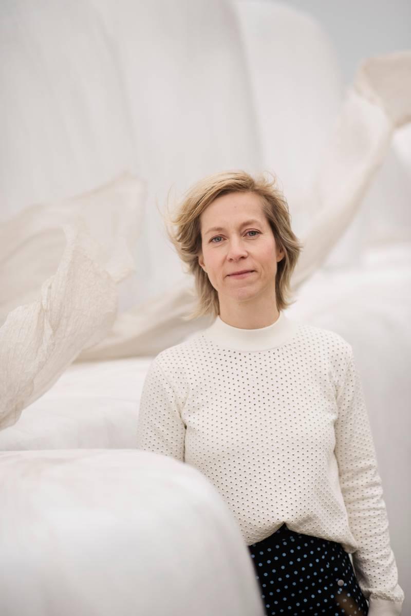 BRYNE: 01.11.2018: Sofie Braut, Kirkem¿terepresentant. Og j¾rbu. Min Tro. Foto: Marie von Krogh