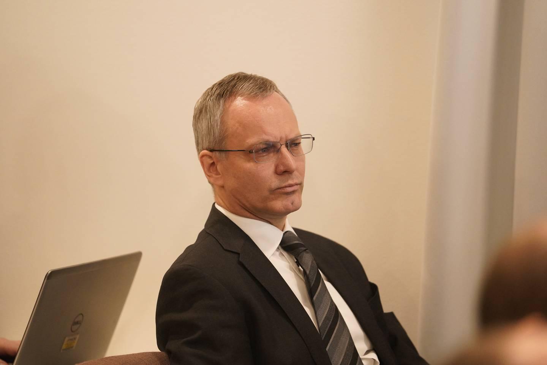 Advokat Nicolai V. Skjerdal anker saken om erstatning på vegne av Tolga-brødrene. Foto: Fredrik Hagen / NTB