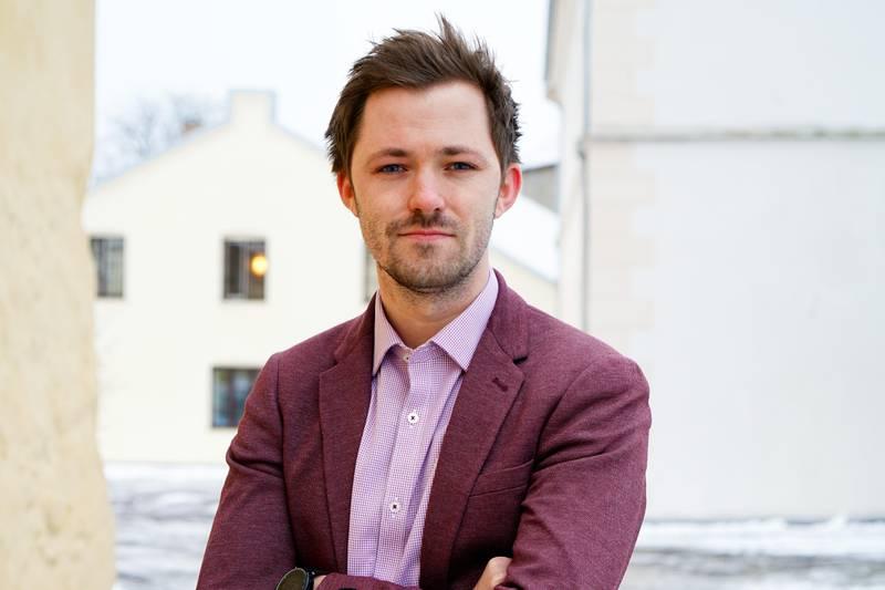 Pressphoto of Head of Communication, Emil André Erstad