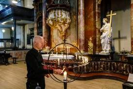 Minnegudstjeneste i Kongsberg kirke