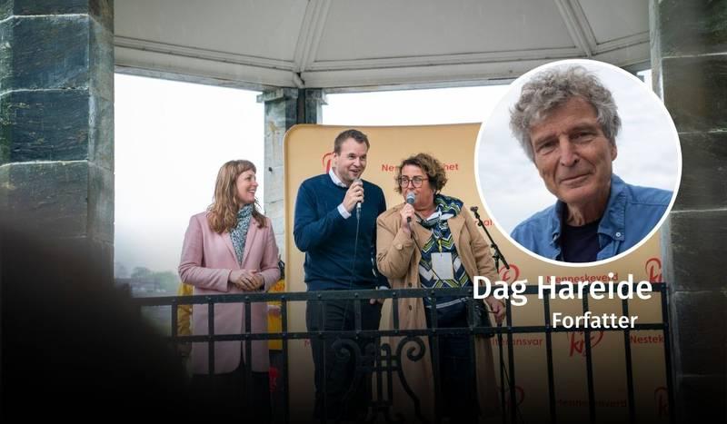 Dag Hareide, KrF, debatt