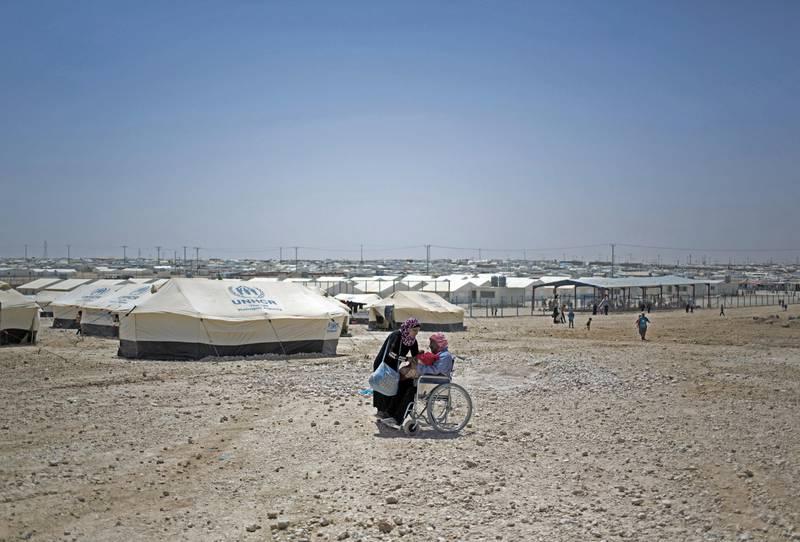 Rullestol flyhktning